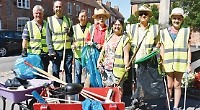 Cleaning is good for us and town, says taskforce leader