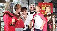 Oh, what a knight... pupils excel at summer production