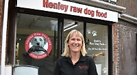 Dog owner opens raw food shop after online success