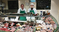 Butcher celebrates half a century of chopping meat