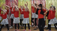 Children stage the 'greatest' show for parents at Trinity hall