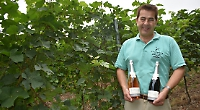 Vineyard celebrates first wine delivery