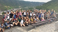 Pupils brush up on German with visit to wine region