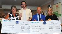 Golfers raise £16,000 for two charities
