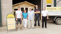 Sheds and timber buildings firm has a new home