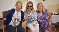 Summer party for care home residents