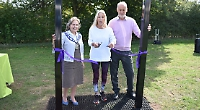 Councillors open new playground and outdoor gym