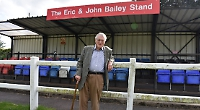 Triangle Ground stand named after club stalwarts