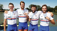 GB men's eight narrowly miss out on silver medal
