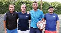 Thorp and Fry win singles titles at club's finals day
