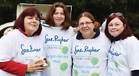 Hundreds join charity walk
