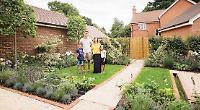 Winning garden design's on display at show home