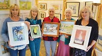 Watercress artists' good cause of choice pays tribute to Jeni