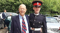 Family proud to see soldier pass out of Sandhurst
