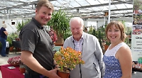 Visitors keen to see cacti experts
