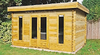 Autumn offers on log cabins and sheds