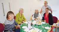 Care home coffee morning for charity