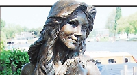 Residents asked to pay for restoration of mermaid statue