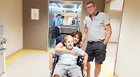 Boy back in Turkey for treatment