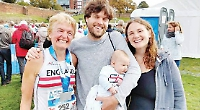 Davies finishes second in age group on England debut at Chester marathon