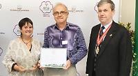 Town wins silver in bloom contest after three-year break