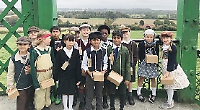 Pupils discover life as a wartime evacuee