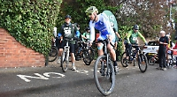 Riders complete charity cycle