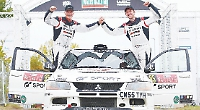 Co-driver Cary and Jardine top their class at Welsh rally