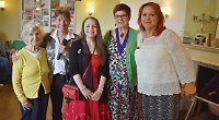 VIPs visit home to mark World Alzheimer's Day