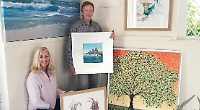 Artists and jewellery maker host joint exhibition