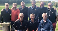 Olympic medallists reunite to play a round at Harpsden