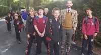 Pupils raise £12,000 with 20-mile sponsored walk