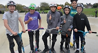 Dozens of youngsters take part in skating workshop