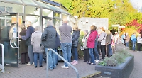 Queues for flu jab blamed on slow surgery computer