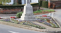 2,000 red, white and blue violas planted at memorial