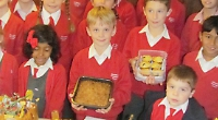 Pupils celebrate Harvest Festival with competitions