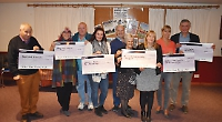 Motor sports club donates £5,200 to community groups