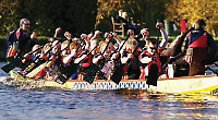 Henley Dragons chase down boats for third place finish