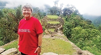 Librarian completes another chapter in series of sponsored treks