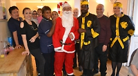 Care home holds Christmas party for residents