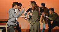 Youth theatre company triumphs with adaptation of Aeschylus