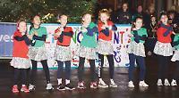Children take centre stage for living advent calendar