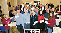 Rally gives £11,000 to good causes