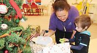 Company donates £400 worth of presents to children's hospice