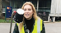 Volunteers fill 10 bin bags with rubbish in two hours