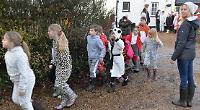 Children's fancy dress walk raises £1,000 for animals