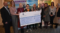 Club raises £33,000 for three charities in just a year