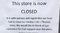 Car parts shop shuts and bank to follow