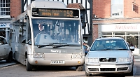 Buses blocked by 'selfish' drivers parking illegally