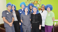 Dental staff give extra bite to mouth cancer campaign